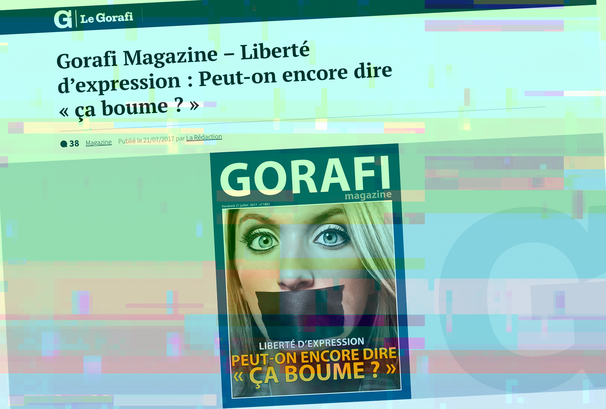 Le Gorafi - screenshot